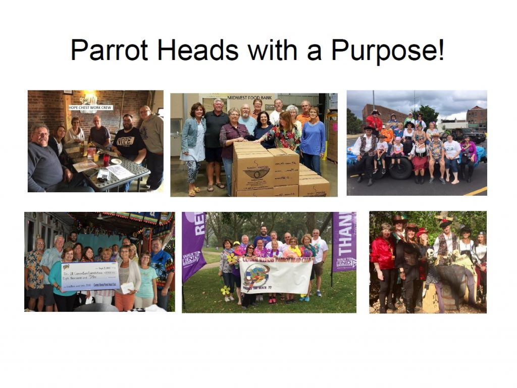 Parrot Heads With A Purpose 2016